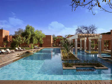 In Agra stay at the ITC Mughal Hotel, a convenient and affordable base for visiting the Taj Mahal