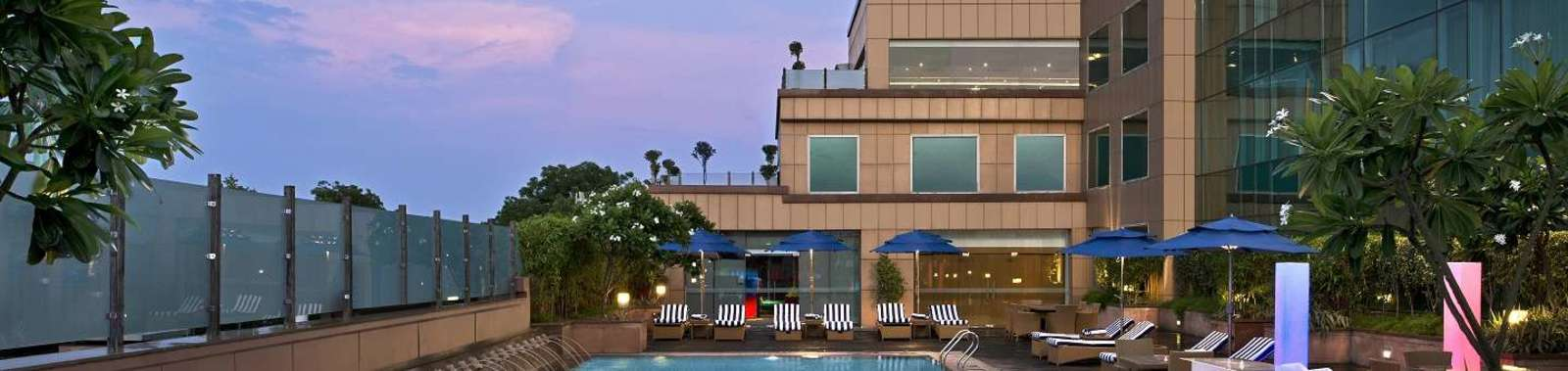 In Agra stay at the Radisson Blue Agra Taj East Gate, a modern hotel convenient for the Taj Mahal