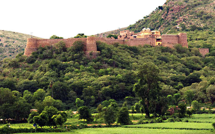 In rural Rajasthan, stay at the Ramathra Fort heritage hotel