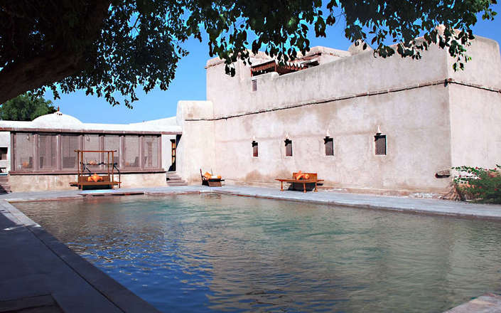 In Nagaur, stay at Ranvas, a magical royal retreat in the heart of Rajasthan