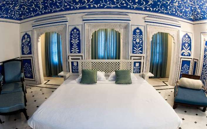 Stay at the Royal Heritage Haveli in Jaipur, Rajasthan, India