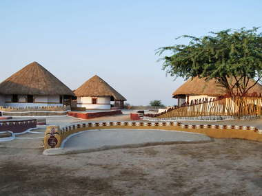 Shaam-e-Sarhad Village Resort, an eco-friendly, rustic-style hotel in Gujarat