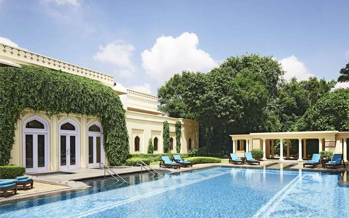 Stay at the Taj Rambagh Palace in Jaipur, Rajasthan, India