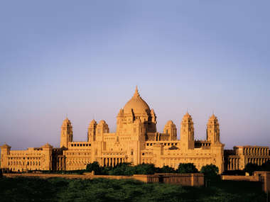 In Jodhpur stay at the Taj Umaid Bhawan Palace, a luxury hotel