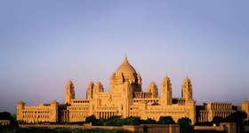 In Jodhpur stay at the Taj Umaid Bhawan Palace, a luxury hotel