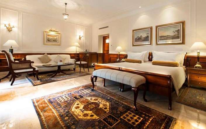 In Delhi stay at the Imperial Hotel, a luxury, heritage hotel in a prime location