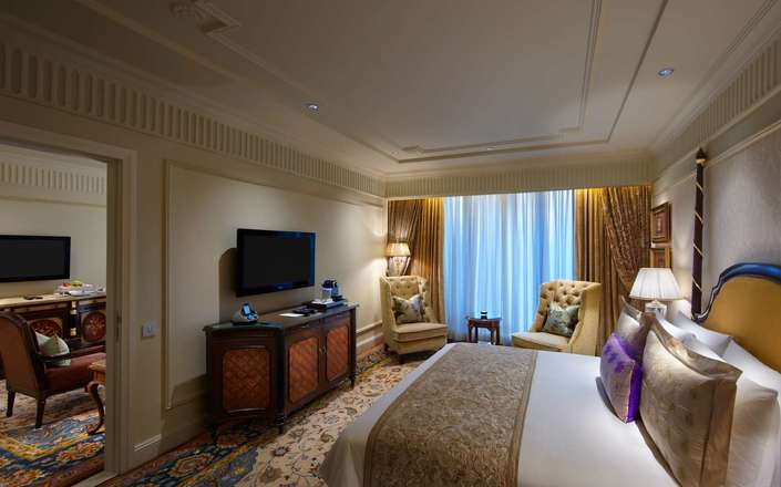 In New Delhi stay at the Leela Palace, one of Delhi's top luxury hotels