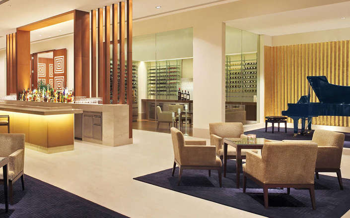 In Delhi, stay at the Oberoi Gurgaon, an award-winning urban retreat