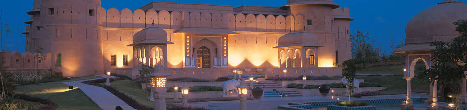 Stay at The Oberoi Raj Vilas, a luxury hotel in Jaipur