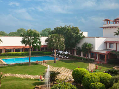 In Agra stay at the international-style Trident Hotel, an affordable base for visiting the Taj Mahal