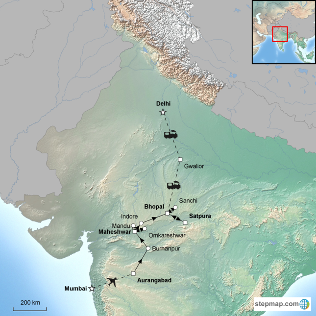 stepmap-karte-passage-through-india-1663263