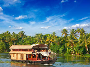 Luxury houseboat holidays in Kerala, South India