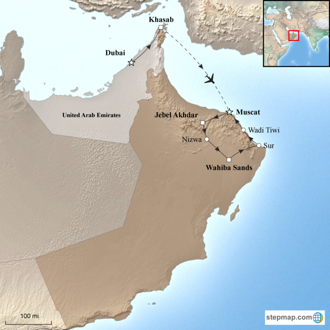 stepmap-karte-dubai-and-oman-15618152
