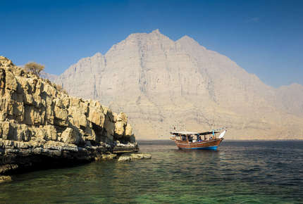 Visit Musandam as part of an active luxury Dubai holiday.