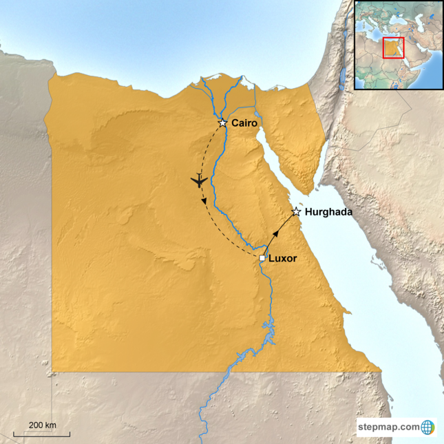 stepmap-karte-egypt-egypt-family-holiday-1579316
