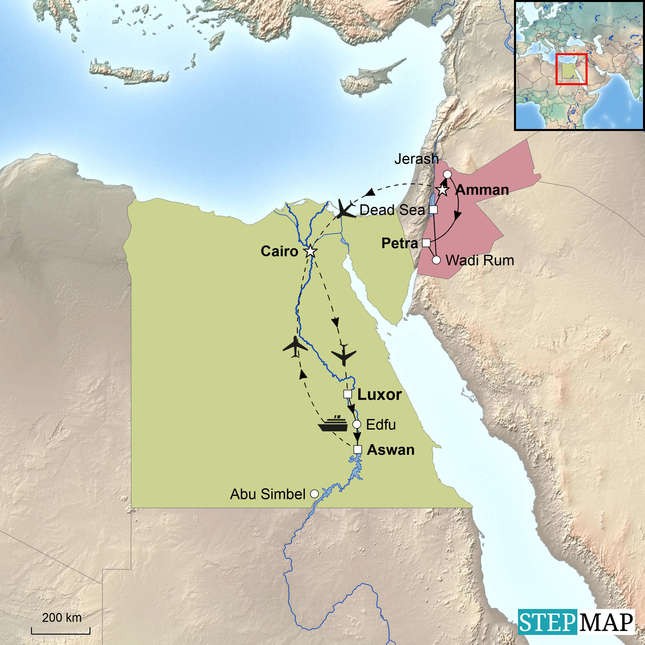 StepMap-Map-Egypt-Jordan-Egypt