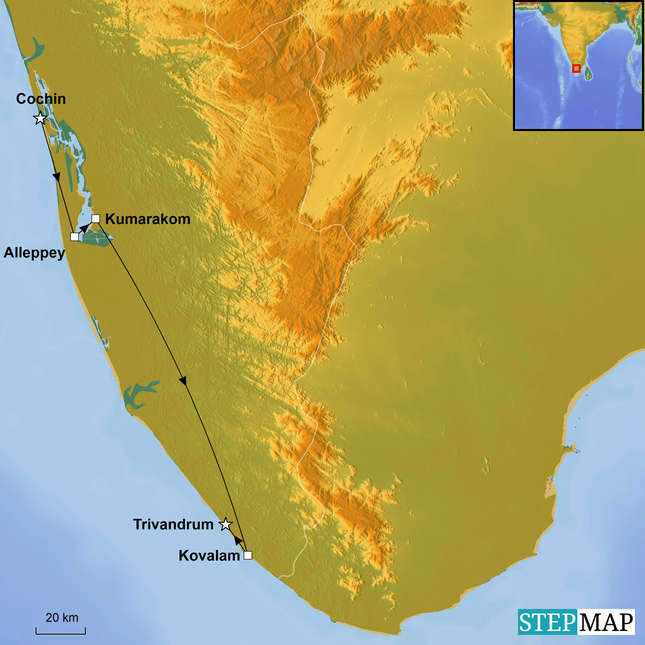 StepMap-Map-Exclusive-Kerala
