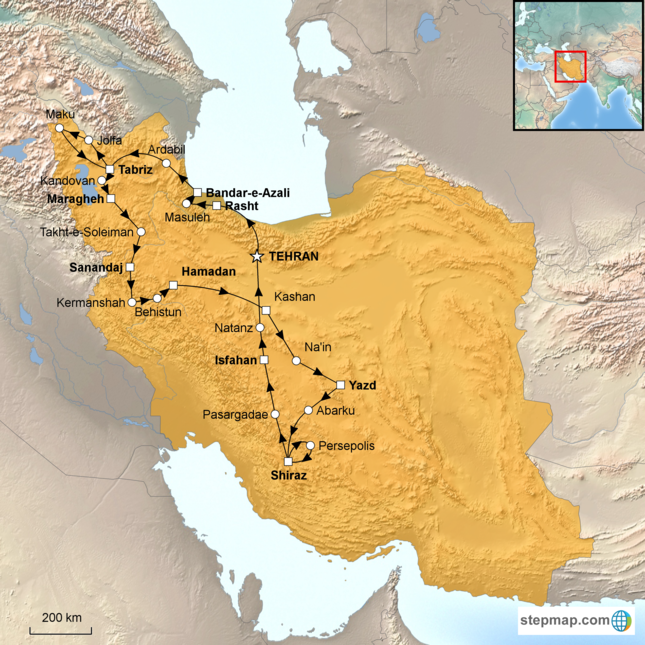 stepmap-karte-grand-tour-of-iran-15504041