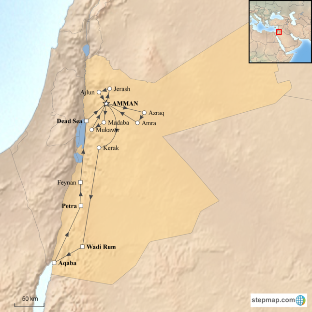 stepmap-karte-grand-tour-of-jordan-1471481