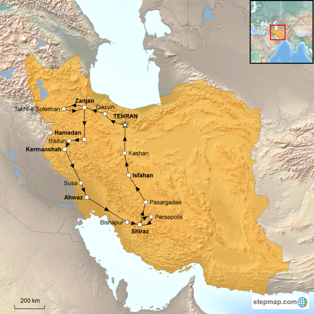 In Search of Ancient Persia, Private Tour | Corinthian Travel