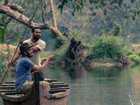 Highlights of Kerala Family Holiday include beach time and a private backwater cruise.