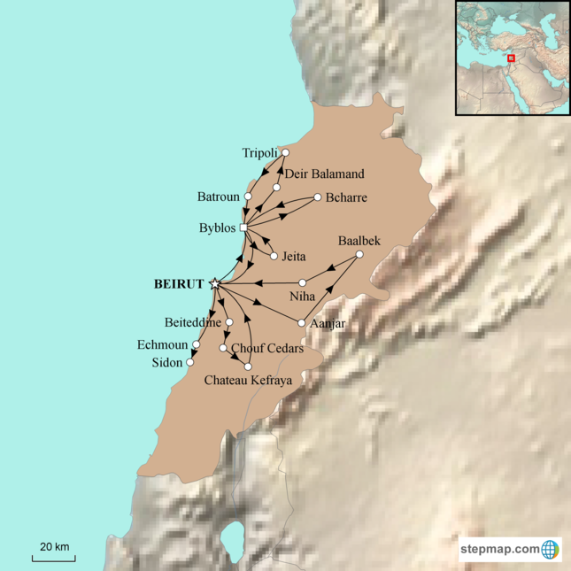 stepmap-karte-lebanon-in-depth-1621003