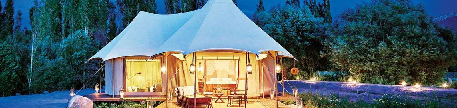 Stay in a tented camp on a luxury holiday to Ladakh, India
