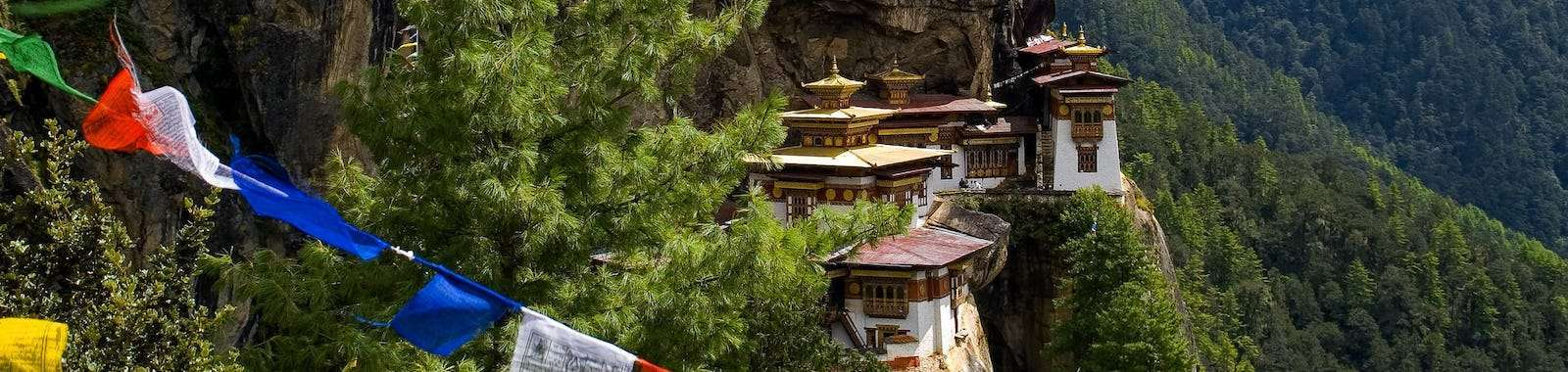 Visit Tiger's Nest on a tailor made holiday to Nepal and Bhutan