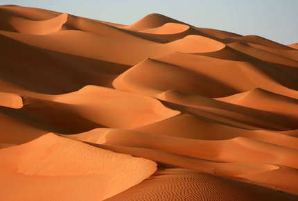 On the Oman & Empty Quarter tour you'll travel in the footsteps of the great Arabian explorers.