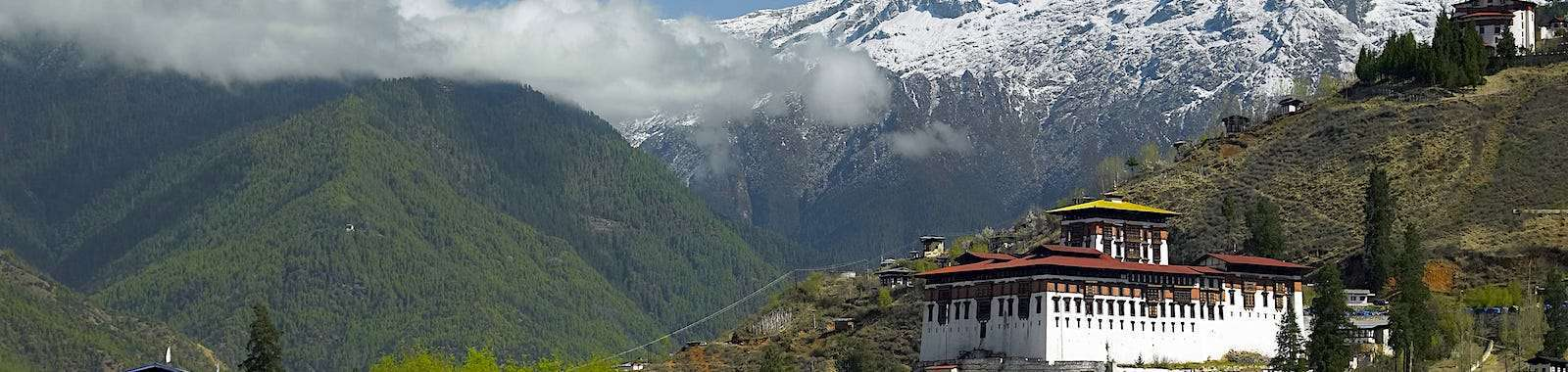 See Paro dzong on a tailor made holiday to Bhutan