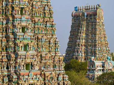 With the temples of Madurai on a luxury holiday to Tamil Nadu in South India