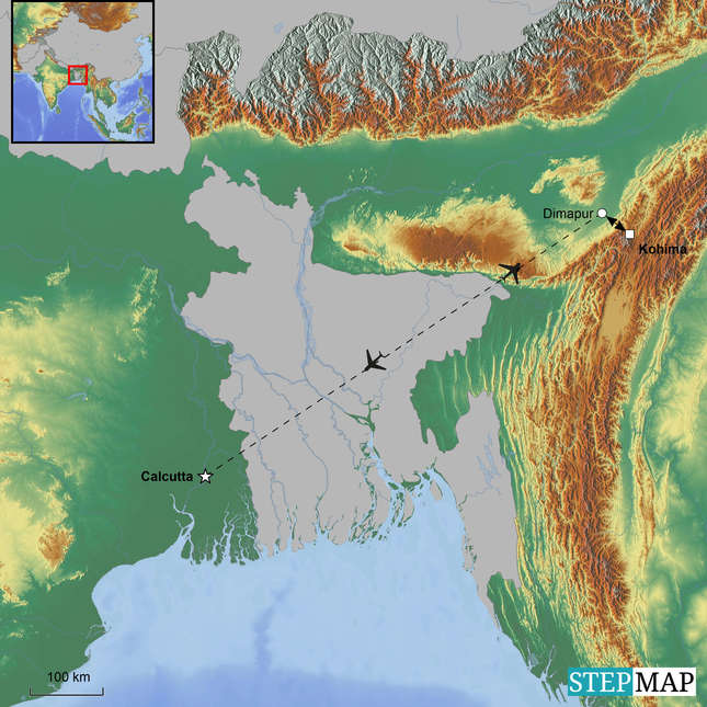StepMap-Map-Nagaland_Hornbill