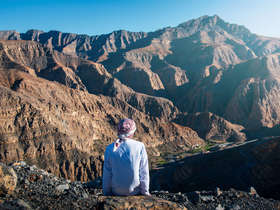 Visit Jebel Jais in Ras Al Khaimah as part of a U.A.E Seven Emirates tour.