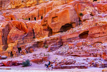 Immerse yourself in local life and see Jordan's great sites on the Timeless Jordan tour.