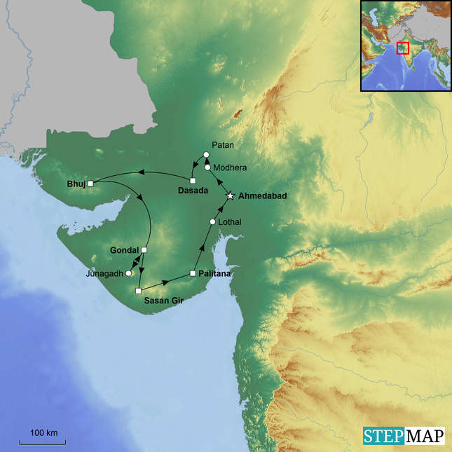 StepMap-Map-Tribes-and-Lions-of-Gujarat