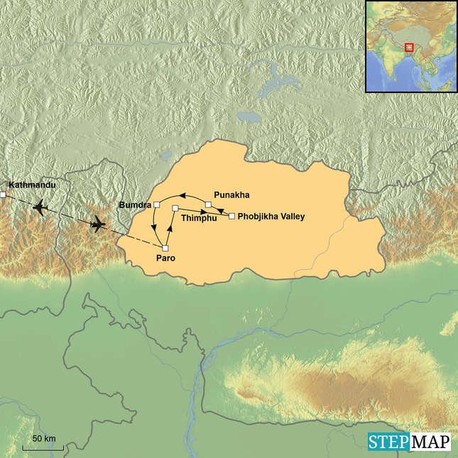 StepMap-Map-Walking_Bhutan